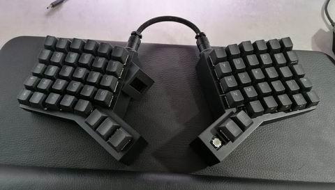 64-key split