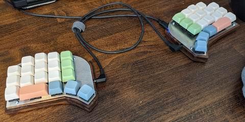Custom handwired split